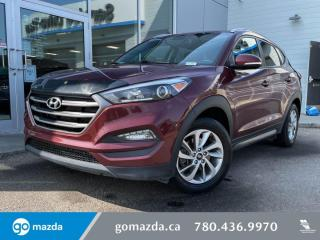 Used 2016 Hyundai Tucson PREMIUM - AWD, CLOTH, BACK UP CAM, APPLE CAR PLAY, BLINDSPOT AND MORE for sale in Edmonton, AB