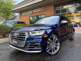 Used 2018 Audi SQ5 3.0 TFSI quattro Technik tiptronic Panoramic Roof for sale in Concord, ON