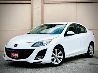 Used 2010 Mazda MAZDA3 GT AUTO NO ACCIDENT CERITIIED $5499 for sale in Brampton, ON