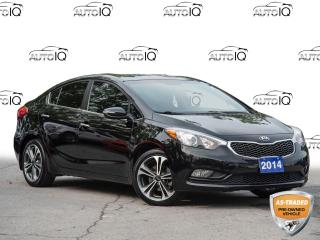 Used 2014 Kia Forte 2.0L SX AS IS PRE-OWNED   CLEAN CARFAX for sale in St Catharines, ON