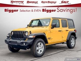 New 2021 Jeep Wrangler Unlimited Sport S for sale in Etobicoke, ON
