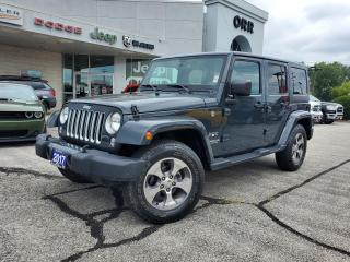 Used 2017 Jeep Wrangler Unlimited Sahara for sale in Sarnia, ON