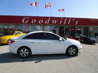 Used 2015 Chevrolet Cruze LT! HEATED LEATHER! SUNROOF! for sale in Aylmer, ON