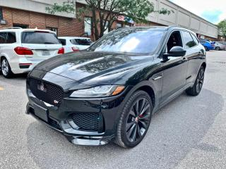 Used 2018 Jaguar F-PACE S AWD, FULL OPTIONS for sale in North York, ON