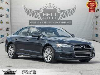 Used 2016 Audi A6 2.0T Progressiv, AWD, Navi, SunRoof, ParkAssist, Sensors for sale in Toronto, ON