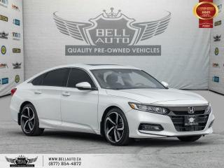 Used 2018 Honda Accord Sedan Sport, RearCam, SunRoof, DriveAsst, CarbonFibreInt for sale in Toronto, ON
