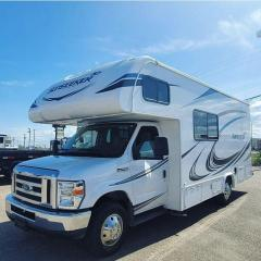 Used 2020 Forest River SUNSEEKER Base      - Steel Wheels - $716 B/W for sale in Fort St John, BC