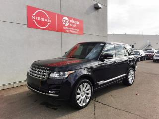 Used 2014 Land Rover Range Rover SUPERCHAGED/V8/510HP/NAV/PANO ROOF/DIGITAL DISPLAY for sale in Edmonton, AB