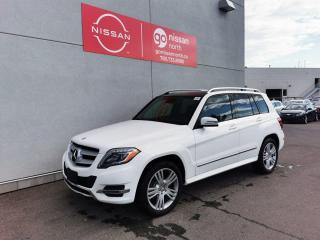 Used 2015 Mercedes-Benz GLK-Class BLUETEC/PANO ROOF/BACK UP CAM/4MATIC/LEATHER for sale in Edmonton, AB