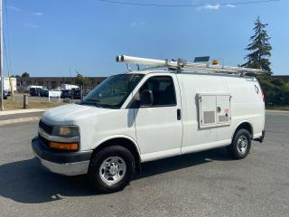 Used 2009 Chevrolet Express 3500, Low KM, Ready For Work, Auto, Warranty Avail for sale in Toronto, ON