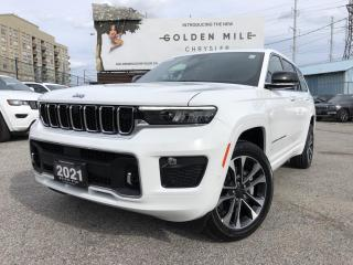 New 2021 Jeep Grand Cherokee L Overland for sale in North York, ON