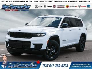New 2021 Jeep Grand Cherokee L for sale in Milton, ON