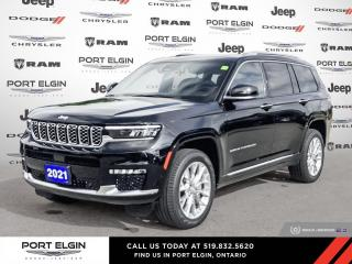 New 2021 Jeep Grand Cherokee All-New L Summit for sale in Port Elgin, ON
