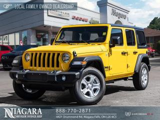 New 2021 Jeep Wrangler Unlimited Sport S for sale in Niagara Falls, ON