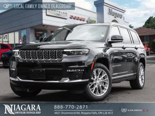 New 2021 Jeep Grand Cherokee All-New L Summit for sale in Niagara Falls, ON