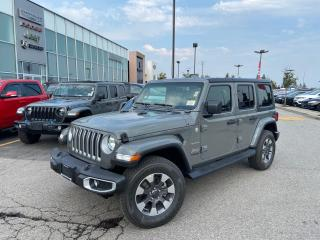 New 2021 Jeep Wrangler UNLIMITED SAHARA 6SPEED MANUAL LEATHER NAVI for sale in Pickering, ON