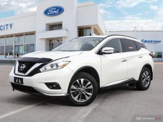 Used 2017 Nissan Murano SV for sale in Winnipeg, MB