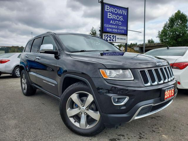 2015 Jeep Grand Cherokee Limited, LOCAL, NO ACCIDENTS