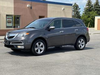 Used 2010 Acura MDX Tech Pkg Navigation/DVD//Sunroof/7 Pass for sale in North York, ON
