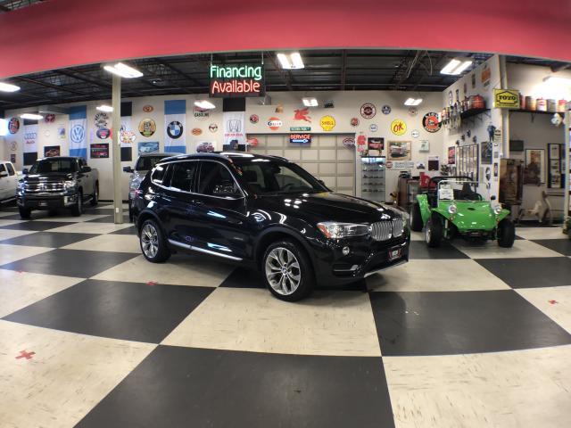 2017 BMW X3 xDrive28i AUTO H/SEATS PANO/ROOF BACKUP CAMERA