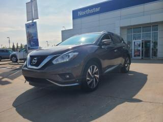 Used 2015 Nissan Murano PLATINUM/LEATHER/NAV/BACKUPCAM/PANOROOF for sale in Edmonton, AB