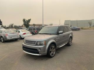 Used 2011 Land Rover Range Rover Sport SC Autobiography Sport |EVERYONE APPROVED for sale in Calgary, AB