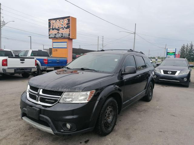 2012 Dodge Journey SXT*3.6L V6*SUNROOF*7 PASS*HITCH*ONLY 199KMS*AS IS