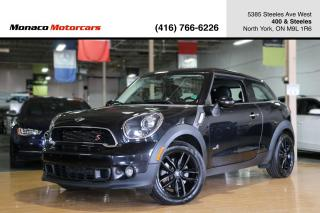Used 2016 MINI Cooper Paceman ALL4 S - LEATHER|PANOROOF|PUSHSTART|HEATED SEATS for sale in North York, ON