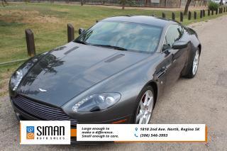 Used 2007 Aston Martin Vantage Coupe LOW KM RARE FIND for sale in Regina, SK