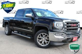 Used 2017 GMC Sierra 1500 SLT LEATHER | 5.3 V8 | CREW CAB | 4X4 | CERTIFIED for sale in Hamilton, ON