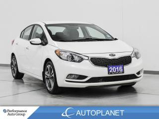 Used 2016 Kia Forte EX, Back Up Cam, Heated Seats, Clean Carfax! for sale in Clarington, ON