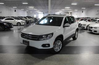 Used 2015 Volkswagen Tiguan TSI 4MOTION I NAVIGATION I PANOROOF I REAR CAM I PUSH START for sale in Mississauga, ON