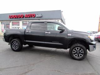 Used 2013 Toyota Tundra Platinum 5.7L CrewMax 4WD Sunroof Bluetooth Certified for sale in Milton, ON