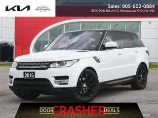 Used 2016 Land Rover Range Rover Sport DIESEL Td6 HSE $295.99 B/W New Tires // New Brakes for sale in Mississauga, ON