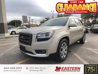 Used 2014 GMC Acadia SLT1 | No Accidents | 1 Owner | 3rd Row Seats | for sale in Winnipeg, MB