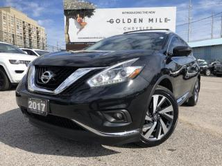 Used 2017 Nissan Murano Platinum for sale in North York, ON