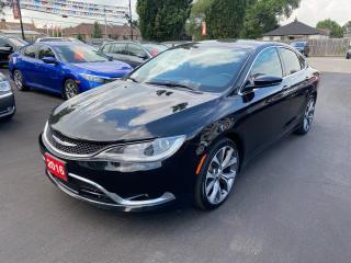 Used 2016 Chrysler 200 C-V6-SOLD SOLD for sale in Stoney Creek, ON