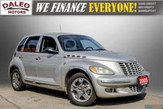 Used 2005 Chrysler PT Cruiser GT / LEATHER / SUNROOF / BUCKET SEATS for sale in Hamilton, ON