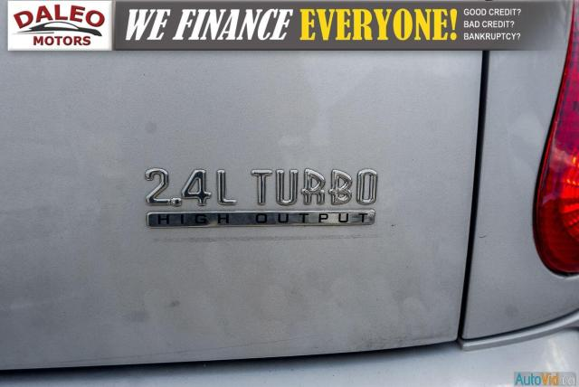 2005 Chrysler PT Cruiser GT / LEATHER / SUNROOF / BUCKET SEATS Photo11
