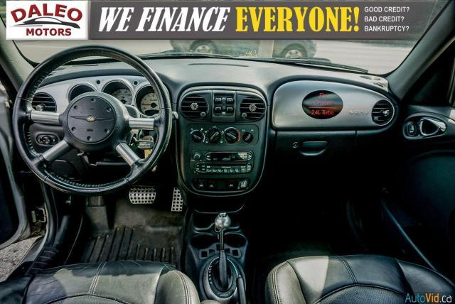 2005 Chrysler PT Cruiser GT / LEATHER / SUNROOF / BUCKET SEATS Photo15