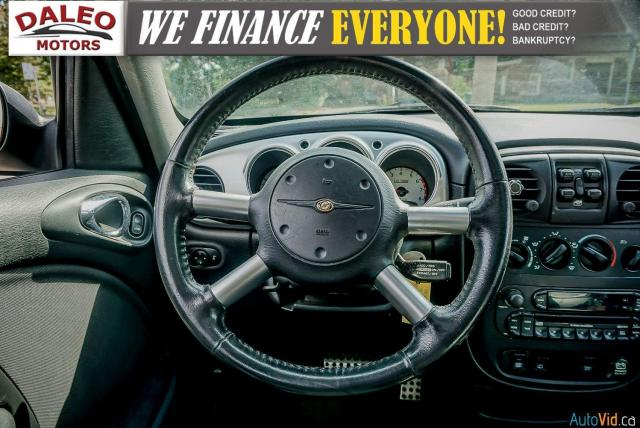 2005 Chrysler PT Cruiser GT / LEATHER / SUNROOF / BUCKET SEATS Photo16