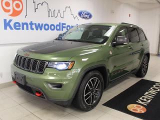 Used 2019 Jeep Grand Cherokee Grand Cherokee | Trailhawk | 4X4 | Luxury Pkg | Leather | for sale in Edmonton, AB