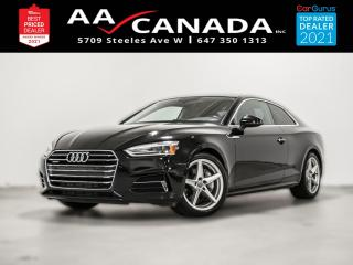 Used 2018 Audi A5 Komfort for sale in North York, ON