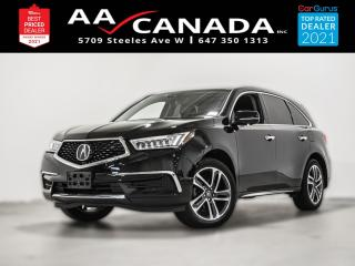 Used 2017 Acura MDX Nav Pkg for sale in North York, ON