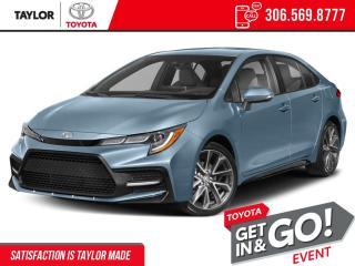 New 2022 Toyota Corolla SE for sale in Regina, SK