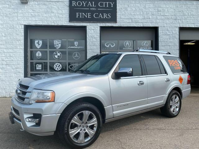 2017 Ford Expedition Platinum LOADED// CLEAN CARFAX// 8 SEATER