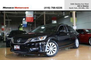 Used 2015 Honda Accord EX-L - LEATHER|SUNROOF|BACKUPCAM|LDW|FCW for sale in North York, ON