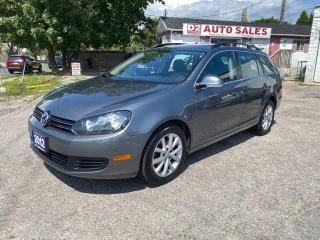 Used 2012 Volkswagen Golf Wagon Automatic/Accident Free/1Owner/Comes Certified for sale in Scarborough, ON