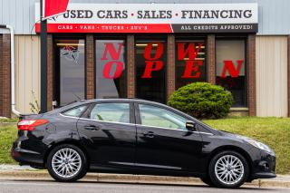 Used 2014 Ford Focus Titanium | Leather | Sunoof | Navi | Cam | Alloys for sale in Oshawa, ON