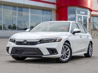 New 2022 Honda Civic EX for sale in Winnipeg, MB